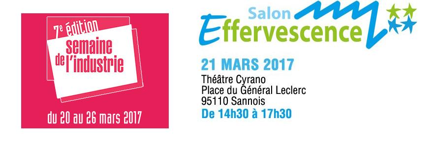 Prochain Salon Effervescence : 21 mars 2017 - A vos agendas !